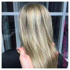 Went from all over ash blonde to this #beautiful #honeyblonde with tons of #blonde dimension. Glaze color: #redken #shadeseq 7gb 9N and a dash of 8gg with #olaplex #colortrak #gregoryalan #btcpics #modernsalon #americansalon #balayage