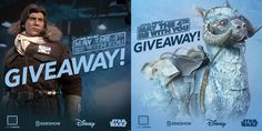 I'm entered to win #StarWars sixth scale figures from @collectsideshow  & @lootcrate! #MayThe4thLoot