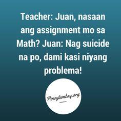 Up pick lines math funny tagalog