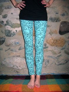 RESERVED FOR taylorbrownable Crazy Cat Lady Legging/Pants Xsmall/Small By Vicmes Clothing