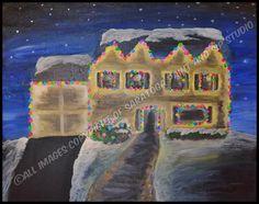 FESTIVE HOME at Saratoga Paint & Sip Studio