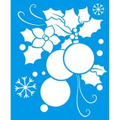Stencil-Natal-Enfeite-17x21-STMN-010---Litoarte Mais