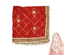 Indrani Wedding Chunri, Buy Indrani Chunri online from India.