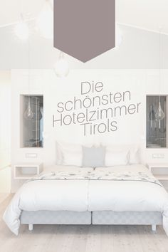 ...gibt's im Juffing Hotel & Spa in Hinterhiersee bei Kufstein. ;-) #Schlafzimmer #hotelinteriors #hoteltipp #hotel #tirol #thiersee #hinterthiersee #juffing #hästens #Design erstück Spa Hotel, Modern, Design, Home Decor, Hotel Bedrooms, Bedroom, Homes, Trendy Tree, Decoration Home