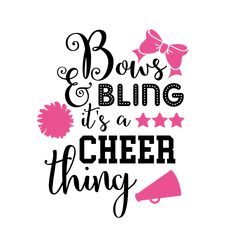 You can create DIY project with our beautiful free svg quotes including SVG, DXF, EPS and PNG files. Use these for your silhouette, cricut machine and more. Cheerleading Quotes, Cheerleading Shirts, Cheer Quotes, Cheer Mom Shirts, Baseball Shirts, Kids Shirts, Football Cheer, Cheer Camp, Flag Football