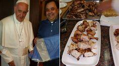Durante su estadía en la Gran Manzana, el Papa Francisco tuvo la oportunidad de sentirse nuevamente en su tierra, Argentina, cuando el viernes 25 fue agasajado con la sazón de unos compatriotas suyos, quienes con cariño y esmero le brindaron un pollo con limón a la parrilla.