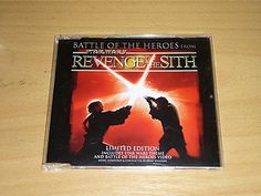 JOHN WILLIAMS - Battle of The Heroes - LTD EDITON STAR WARS CD