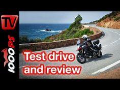 First test | Suzuki V-Strom 1000 ABS 2014 - Action & Details English