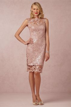Short version of the long MOB dress I fell in love with. Short would be super cute!! Primrose Sheath in Bridal Party & Guests View All Dresses at BHLDN