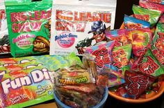 '80s candy for the party