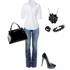 Love this Style! Great for Date night or casual Friday!