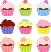 Cupcake Clipart and Stock Illustrations. 3653 cupcake vector EPS illustrations and drawings available to search from over 15 royalty free clip art graphics brands.