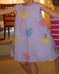Disney princess pinafore jumper