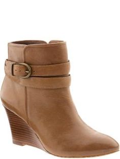 f2c20edd31c Not sure I could pull these off, but I really like them! Wedge Boots