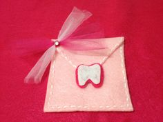 Tooth Fairy Envelope for Teeth letters and Money, Boys and Girls colors available. $5.00, via Etsy.. CA