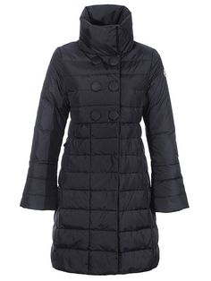 I. LOVE. THIS. Latest Moncler Women Outerwear Johanna Long Down Coat Black - $237.15Cheap Moncler Coats www.monclerlines....