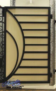 New Design - Wrought Iron Gate Steel Gate Design, Front Gate Design, Main Gate Design, House Gate Design, Door Gate Design, Metal Gates, Wrought Iron Gates, Metal Garden Gates, Porte Design