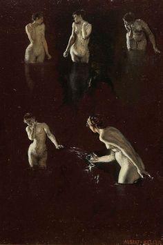 albert von keller paintings - Google Search