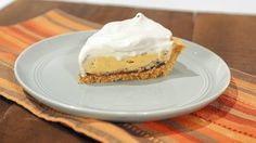 Clinton Kelly's Pumpkin Ice Cream Pie