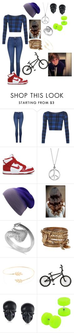 """""""Riding with ur dream bf"""" by skatergurl58 ❤ liked on Polyvore featuring Topshop, WearAll, NIKE, Journee Collection, Allurez, ALDO, Accessorize and Tarina Tarantino"""