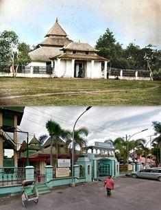 Moskee te Blora, ca 1862, ,.,   Mesjid Agung Baitunnur, Jl Alun alun, Blora, 2019