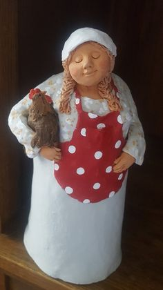 Hausfrau II (rot)
