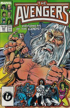 The Avengers #282, 1987