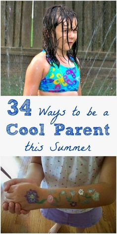 Ways to Be a Cool Parent This Summer Simple ideas (most are free!) for fun things to do with the kids to make the most of summer!Simple ideas (most are free!) for fun things to do with the kids to make the most of summer! Summer Activities For Kids, Summer Kids, Fun Activities, Outdoor Activities, Free Summer, Summer Games, Summer 2016, Things To Do At Home, Fun Things