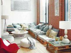 Maliyeti düşük, yapımı basit, kullanımı rahat ve çok şık 15 farklı fikirle ahşap paletler ile dekorasyon nasıl yapılır?