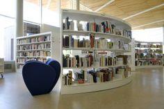 Médiathèque de Mourenx (64) ©IDM design library