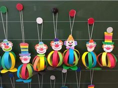 Clown Crafts, Circus Crafts, Carnival Crafts, Preschool Decor, Daycare Crafts, Diy Crafts Hacks, Diy And Crafts, Crafts For Kids, Toilet Paper Roll Crafts