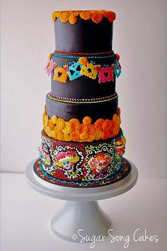 24 Mexican Wedding Cake Ideas ❤ See more: http://www.weddingforward.com/mexican-wedding-cake-ideas/ #weddings #cakes