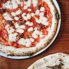 From chefs Loren Mendosa, Mitch Beerens, and Ian Redshaw of Lampo Neapolitan Pizzeria of Charlottesville, Virginia. Photo by Lauren Stonestreet. San Marzano Tomatoes, Food Mills, Dough Balls, What To Cook, Pizza Dough, The Locals, Vegetable Pizza, Italian Recipes, Stuffed Peppers