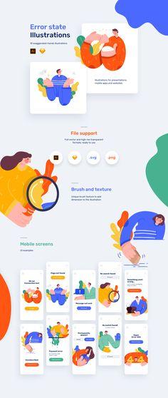 Flat web design inspiration Inspiration for Flat Webd …. Flat Web Design, Minimal Web Design, Web Design Trends, Design Websites, Design Plat, Design Ios, Website Illustration, Flat Illustration, Illustrations