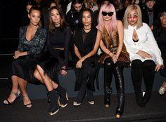 Front Row Stars: New York Fashion Week Fall 2016