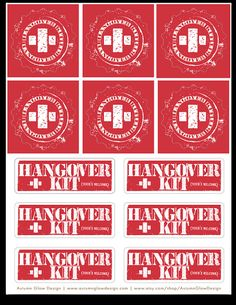 Omg you have to read these diy printable fully customized hangover stickers for 6 diy hangover kits solutioingenieria Choice Image