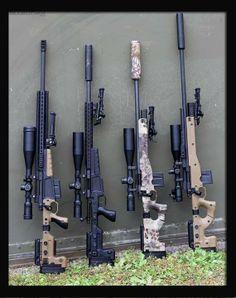 Beautiful Rifles
