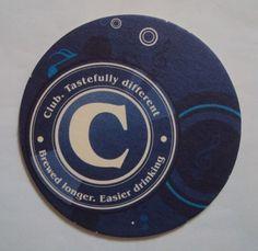 Kenya Club Pilsner Coaster