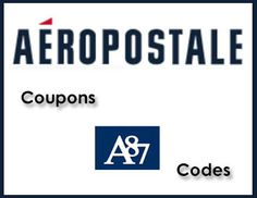 Aeropostale Promo Codes 2013 – Updated! Coupon Dad has all the latest Aeropostale coupons and promo codes for you to save on your next purchase! I keep this page constantly updated with the late ...