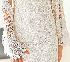 Beautiful French Designer Dress Snow White von FrenchCrochetStory