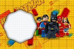 Lego Movie: Free Printable Invitations.