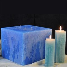 Inch Round or Square Giant Candle Giant Candles, Square Candles, Round Candles, Candles In Fireplace, Rustic Candles, Large Candles, White Candles, Pillar Candles, Interior Design Candles