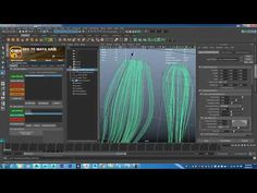 How to creating hair in Maya (GMH2 workflow) - YouTube