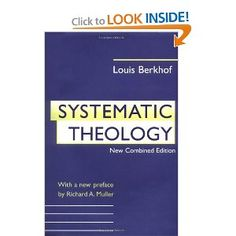 I have found Berkhof to be very helpful as a systematic theologian.