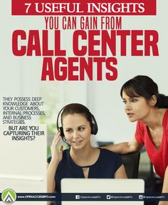 Your #CallCenter agents, who serve as your brand's frontline representatives, can give you access to these valuable insights.