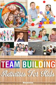 Fun Team Building Games And Activities For Kids Images