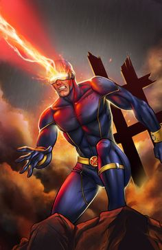 Cyclops Unleashed by JamieFayX.deviantart.com on @deviantART