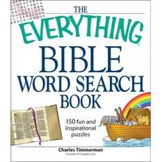 Buy The Everything Bible Word Search Book by Charles Timmerman at Mighty Ape NZ. Word search fans will be able to test their Bible knowledge with this word search collection. Packed with 150 puzzles, this entertaining book mixes Bi. Word Search Puzzles, Word Puzzles, Large Print Bible, Bible Search, Inspirational Books To Read, Book Annotation, Puzzle Books, Bible Words, Bible Knowledge