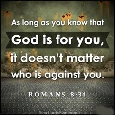 No one can Stand against God