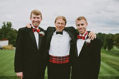 scottish tartan wedding // via ruffledblog.com